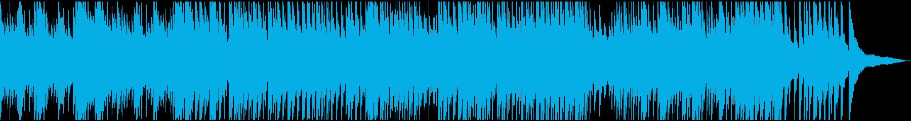 製品紹介・CM 明るく壮大なピアノソロの再生済みの波形