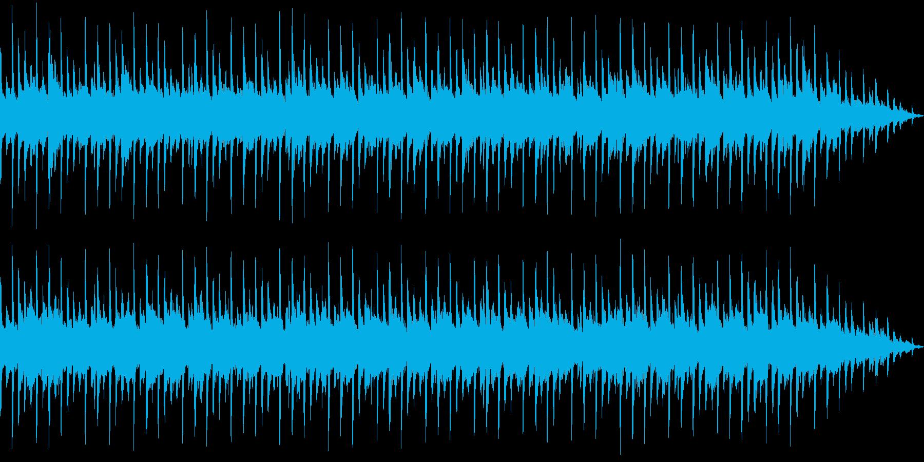 【主張しない背景音楽】ヒーリング3の再生済みの波形