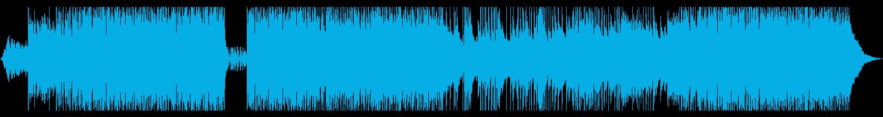 インストゥルメンタルギターのメロデ...の再生済みの波形