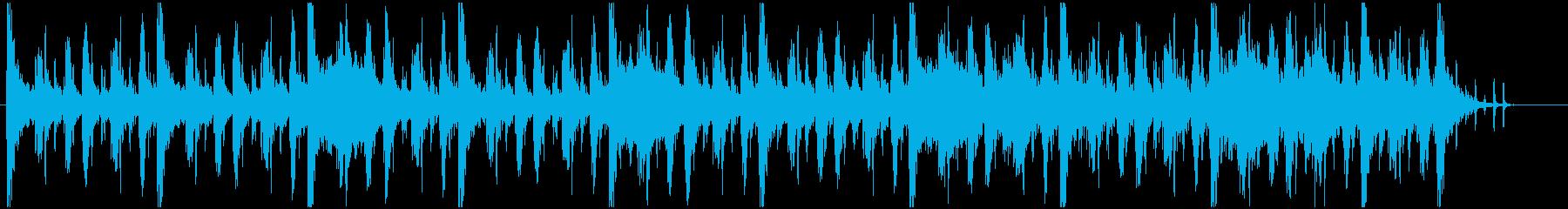 ワクワクドキドキ冒険BGMの再生済みの波形