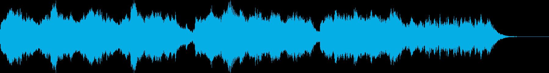 まろやかな音色のバラードの再生済みの波形