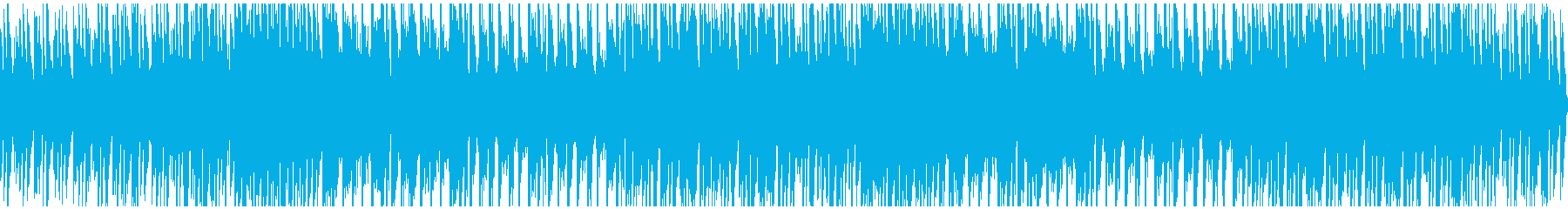 電子でファッションな曲の再生済みの波形