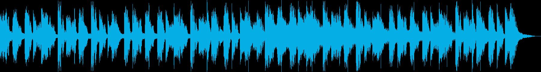 【CM】クールなエレクトロBGM・12の再生済みの波形