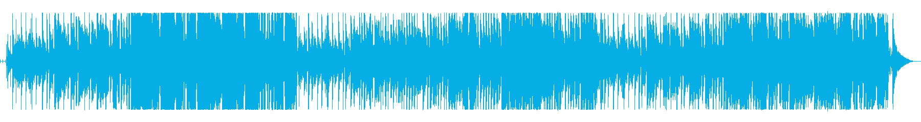 お洒落なバーにおすすめのJazz風BGMの再生済みの波形