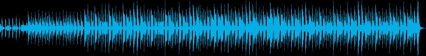 フルート/レコーダー、アコーディオ...の再生済みの波形