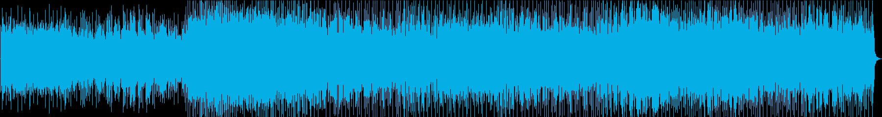 あかるくかわいい感じでファンタジックな曲の再生済みの波形