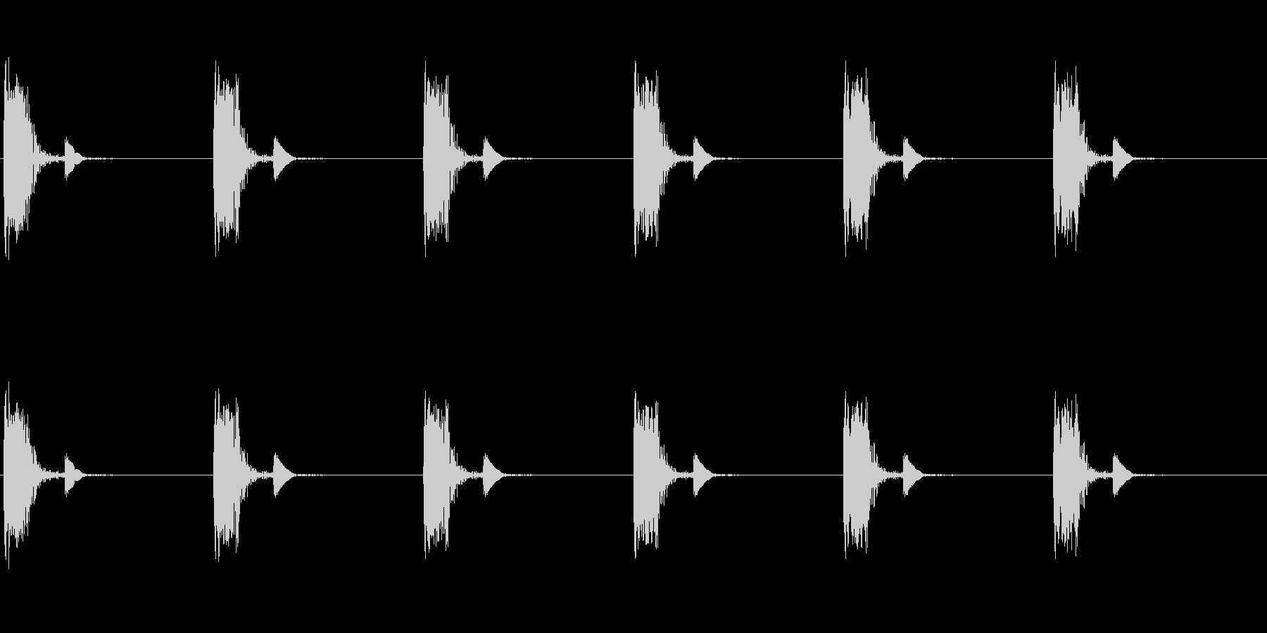 ループ可な心臓音(心拍音・心理音・脈拍…の未再生の波形