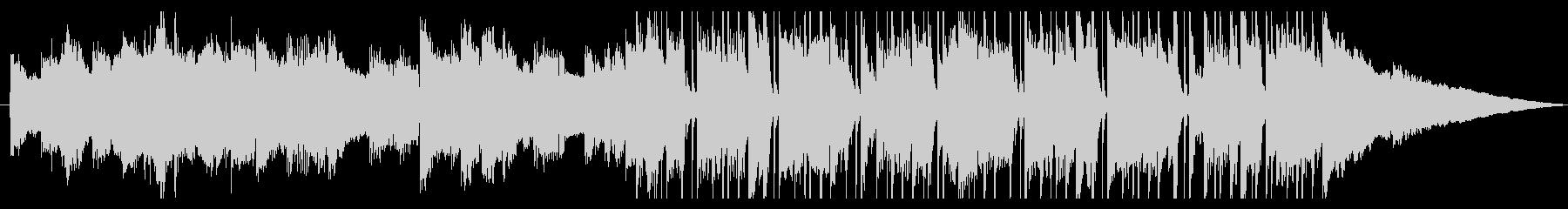印象的なエレピのおしゃれなショートBGMの未再生の波形