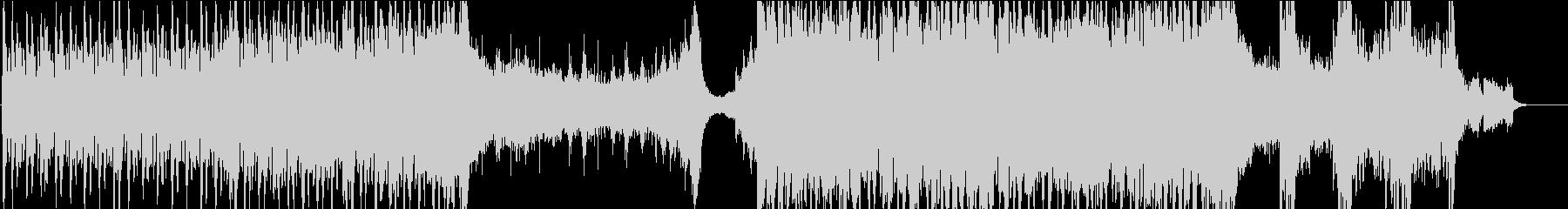 サスペンス、シリアスな劇伴ドラムンベースの未再生の波形