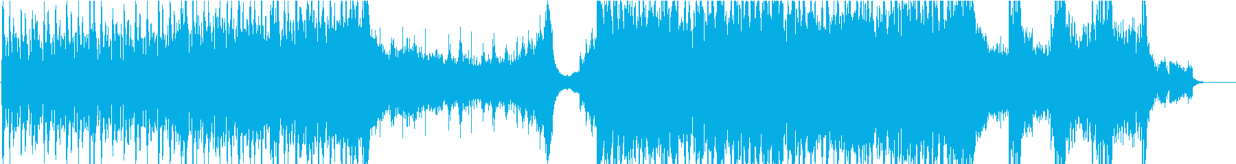 サスペンス、シリアスな劇伴ドラムンベースの再生済みの波形
