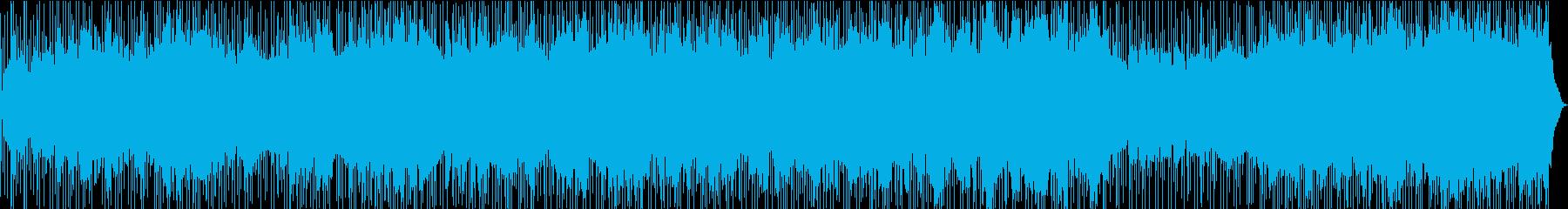 シーケンス 電子ビート01の再生済みの波形