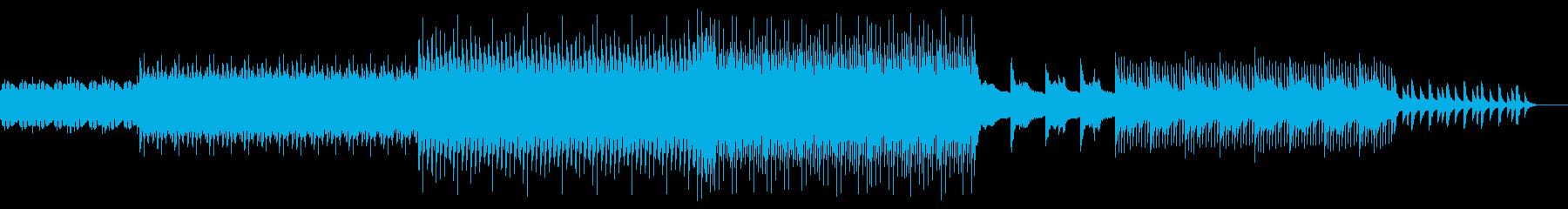 始まりを予感させるクールなサウンドの再生済みの波形