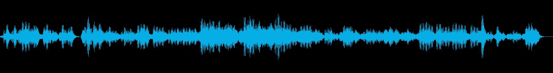 永遠の世界をイメージしたヒーリングBGMの再生済みの波形