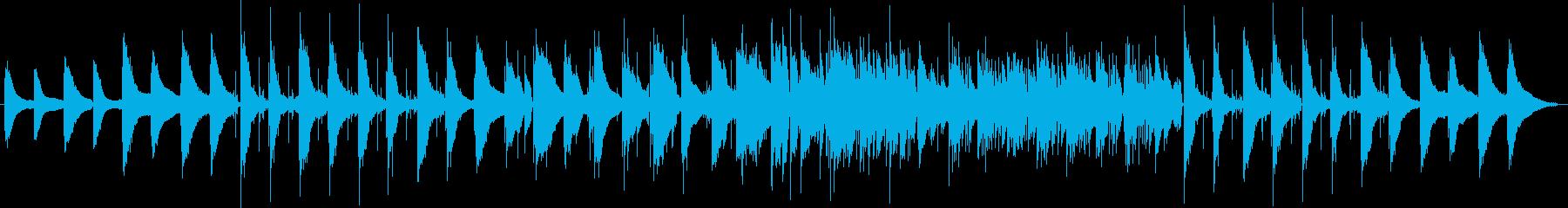 幻想的なピアノトリオの再生済みの波形