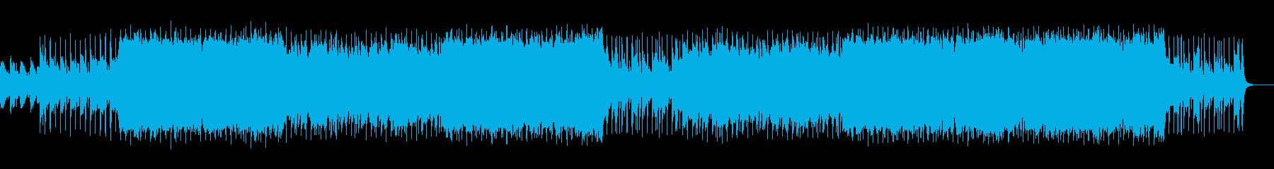 大平原が似合う、壮大で爽やかな曲の再生済みの波形