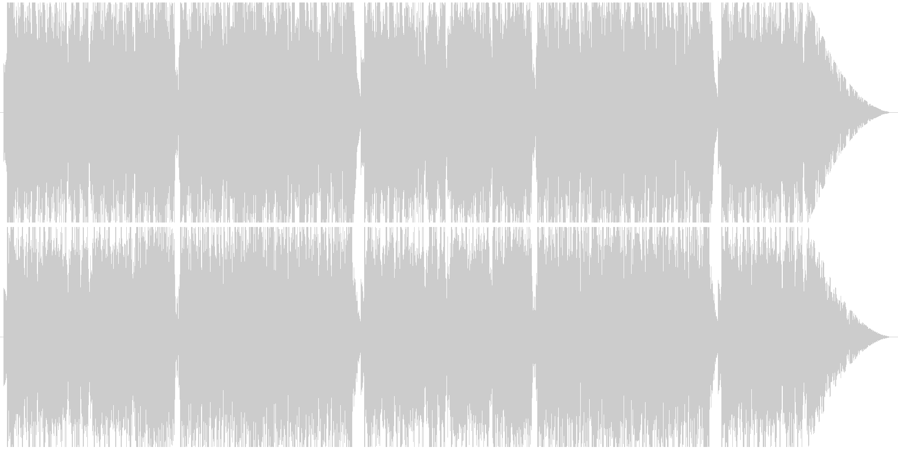 古びた世界観をイメージしたオカリナソロ。の未再生の波形