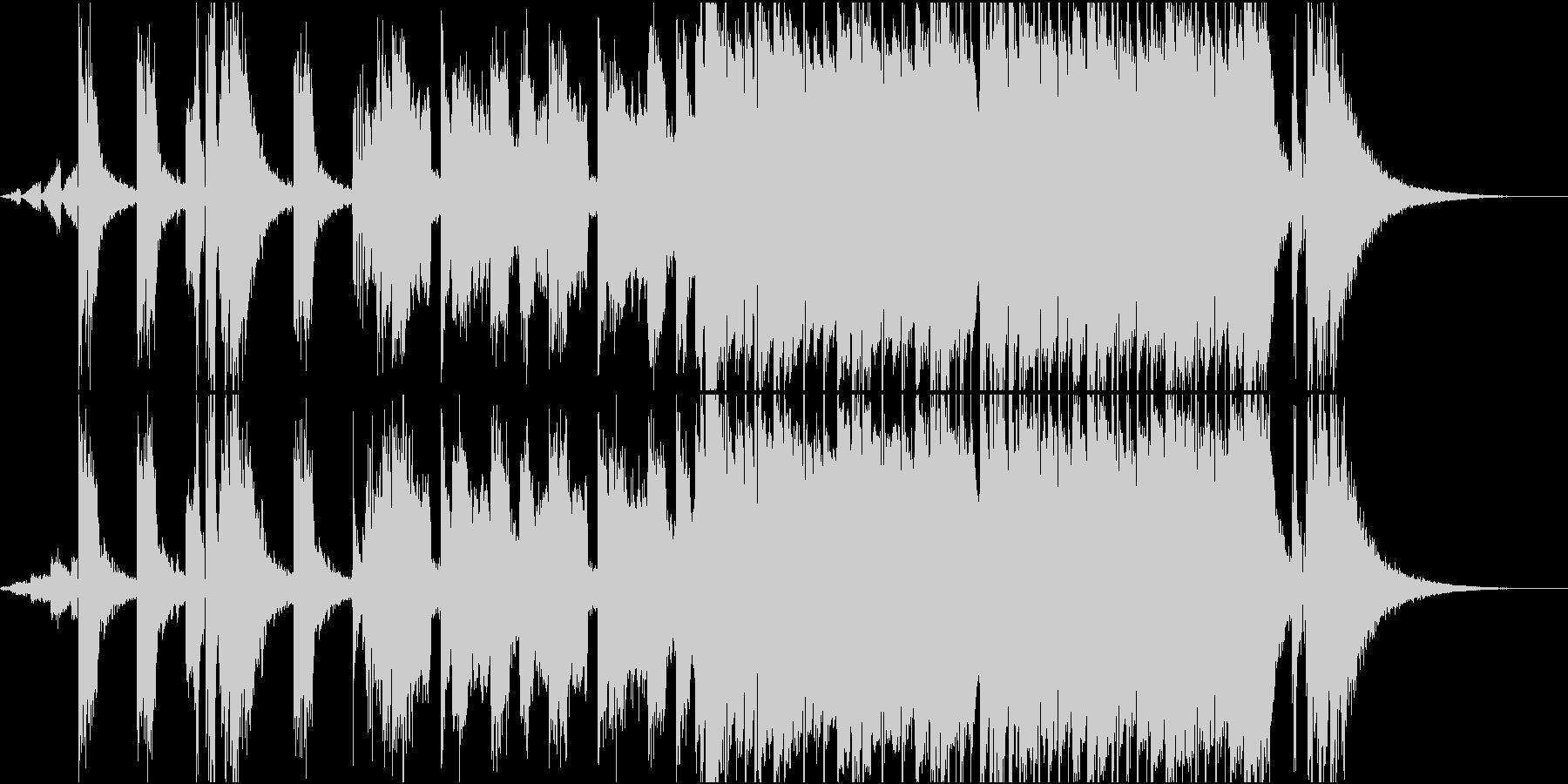 Kpop風な壮大バウンスビートの未再生の波形