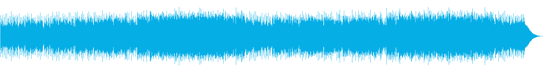 A refreshing and light live violin's reproduced waveform