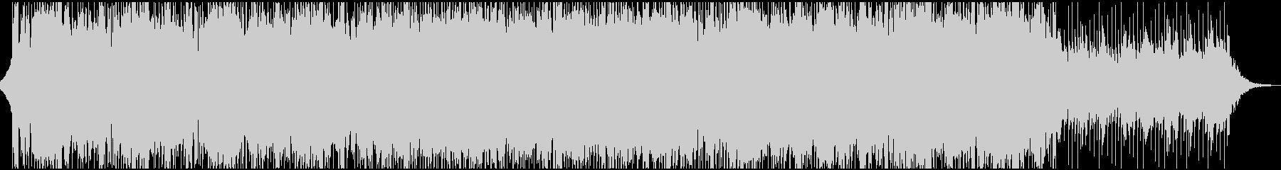 切ないコーポレート系BGMの未再生の波形