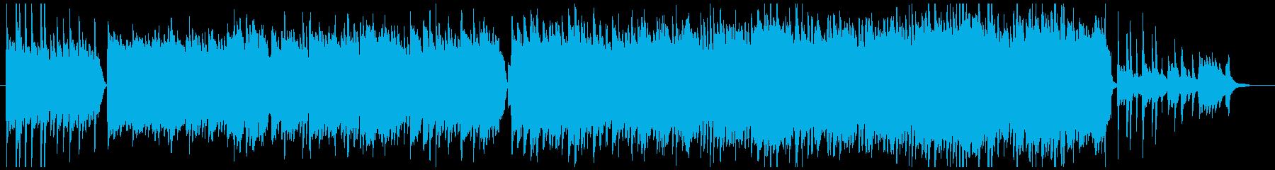『われは海の子』のインストの再生済みの波形