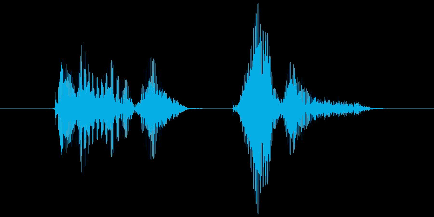 トリプル!の再生済みの波形