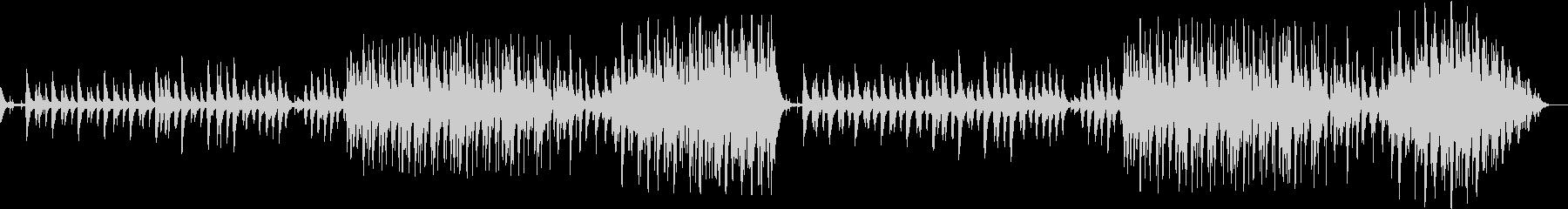 ドキドキするシーン(弦楽器とドラムス)の未再生の波形