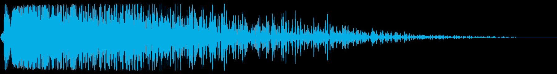重いクランチ残響ダブルウッドの衝撃...の再生済みの波形