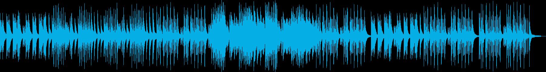 切なさとほのぼのの中間なピアノバラードの再生済みの波形