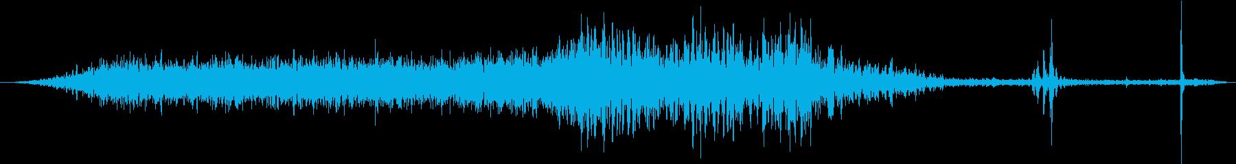 GmキャデラックCts:Int:通...の再生済みの波形