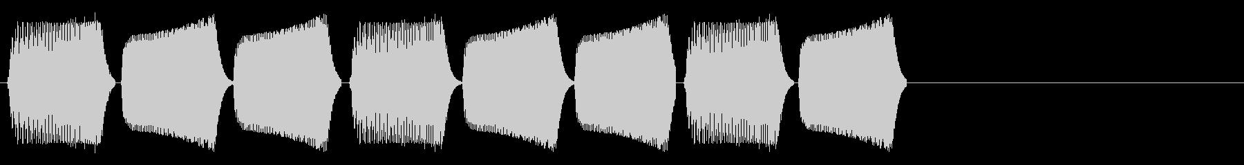 KANTブパ自主規制音2shortの未再生の波形