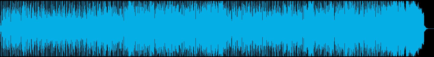 和風でリラックスできるスムースジャズの再生済みの波形