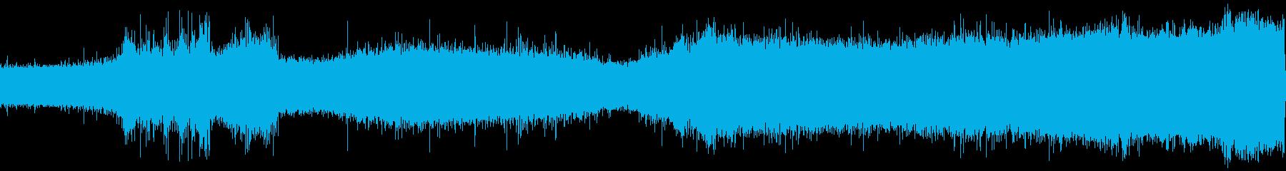 噴水スプレーの再生済みの波形