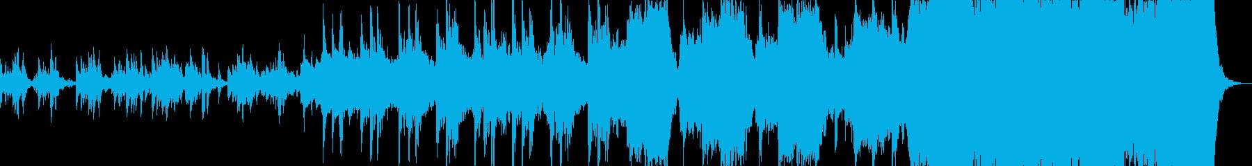 中世紀なMMORPGゲームミュージックの再生済みの波形