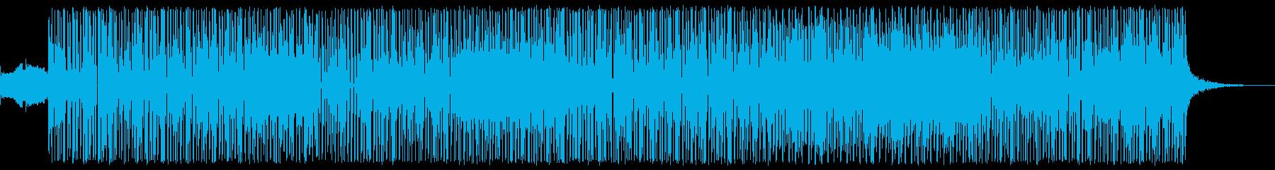 サンプリングされたボーカルを含むダ...の再生済みの波形