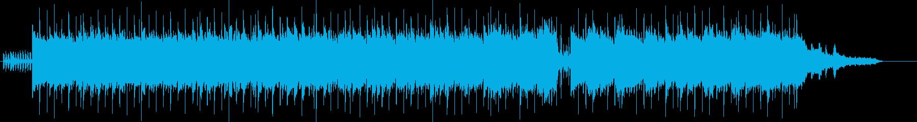 ポップ・バラードの再生済みの波形