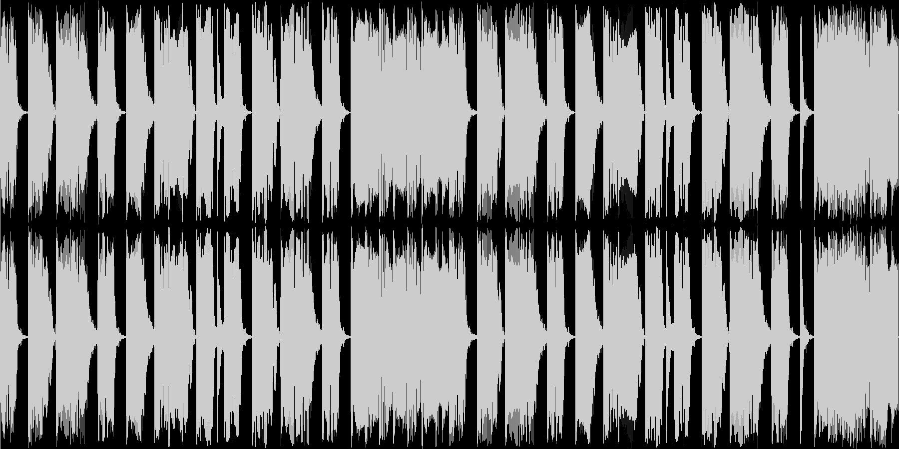 ゲームのBGM用に作曲したコミカルなル…の未再生の波形
