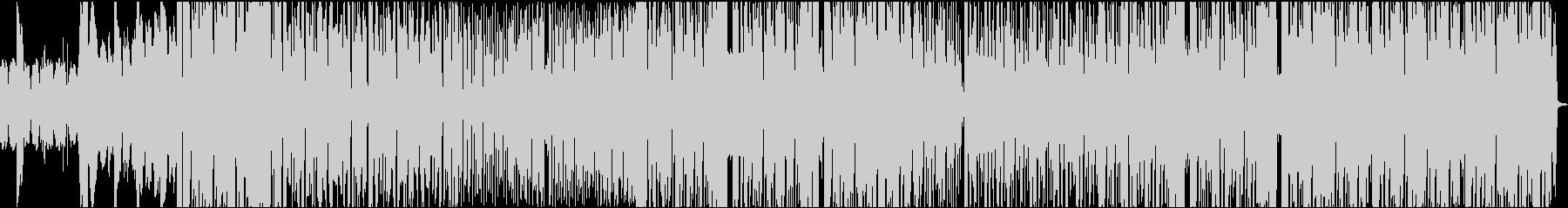 暖かくて暗めのEDMの未再生の波形