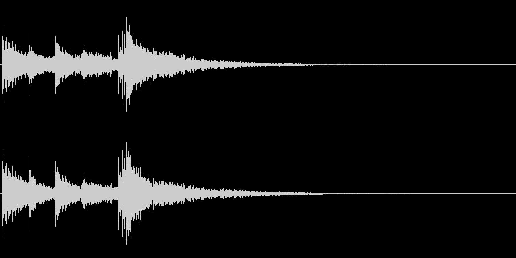 ★アコギ生音のジングル/冷たいの未再生の波形