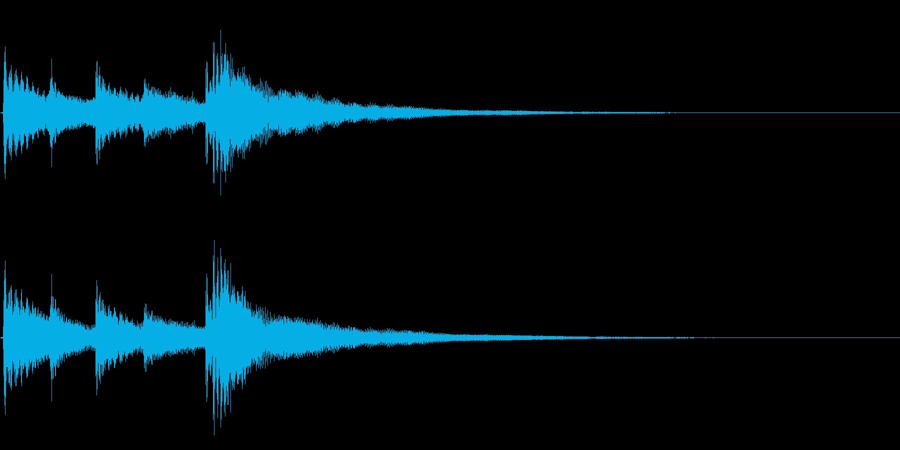 ★アコギ生音のジングル/冷たいの再生済みの波形