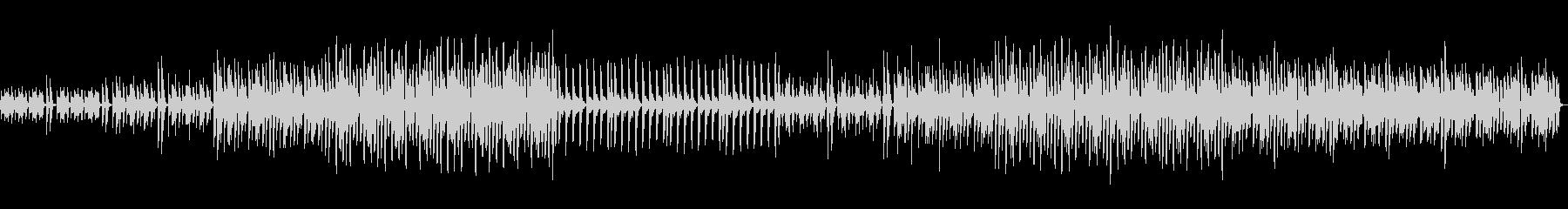 可愛い不思議な変速ビートの電子ピアノの曲の未再生の波形