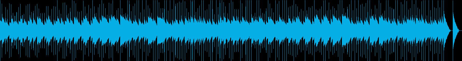 ノスタルジックで何かの始まりな感じの再生済みの波形