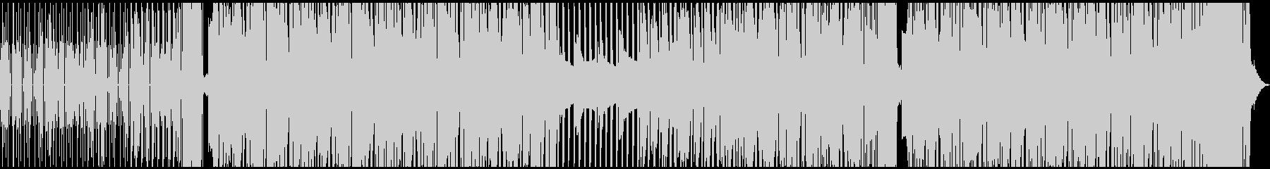 疾走感のあるシンプルなドラムンベースの未再生の波形