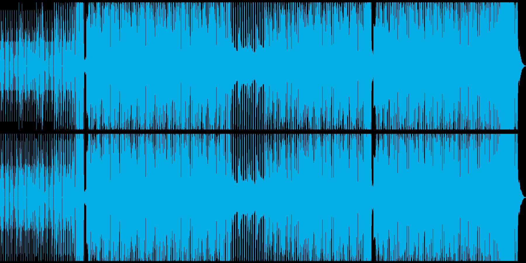 疾走感のあるシンプルなドラムンベースの再生済みの波形