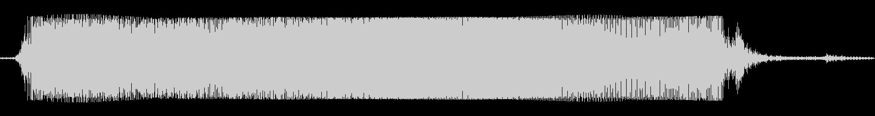 ギターメタルパワーコードbの未再生の波形