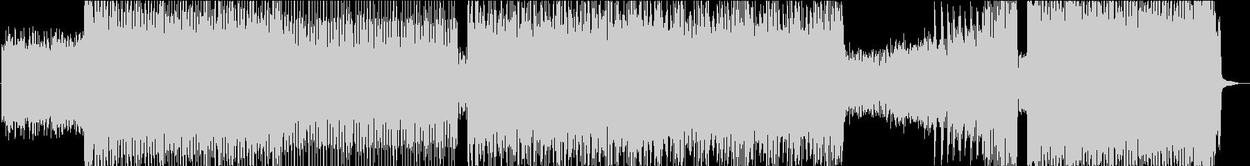 ひたすら激しいメタルロック Aの未再生の波形
