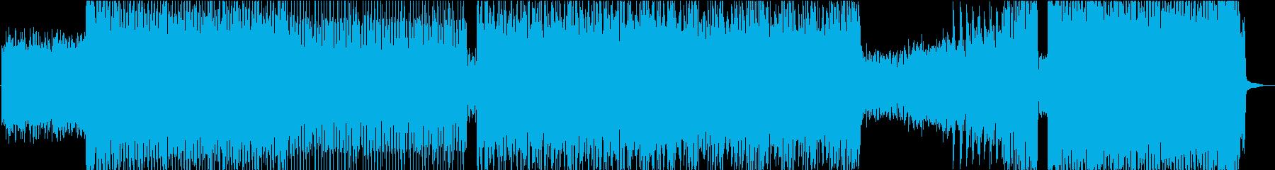 ひたすら激しいメタルロック Aの再生済みの波形