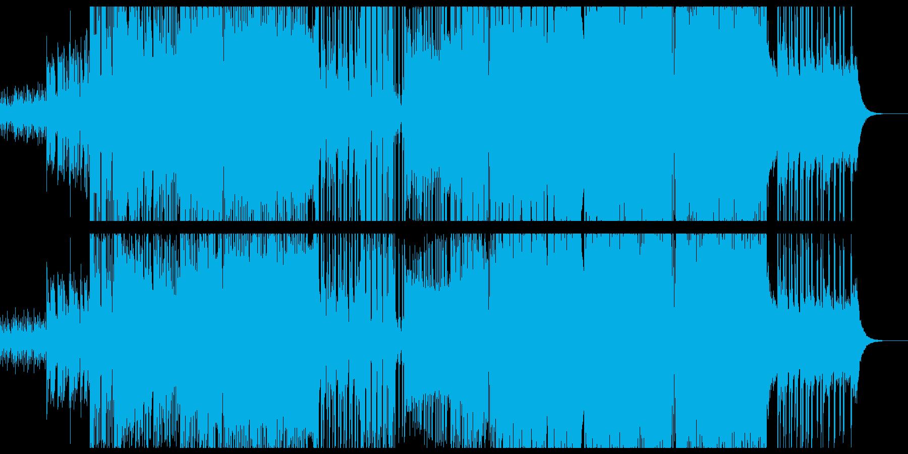 しっとり緩やかな洋楽風EDMの再生済みの波形