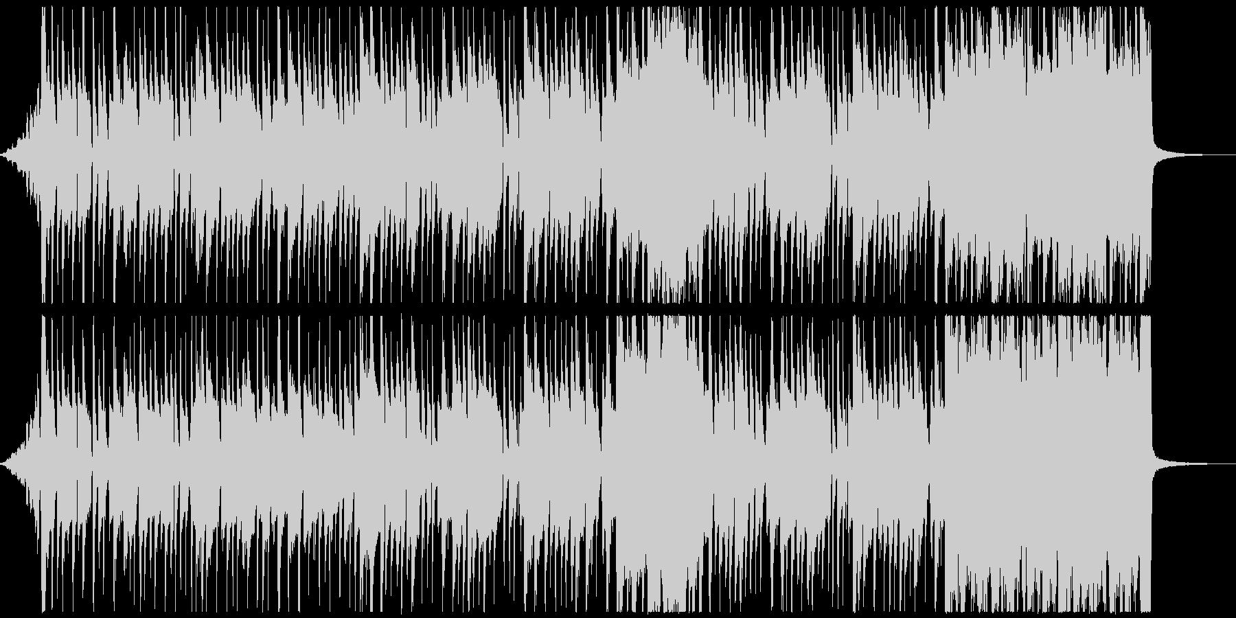 怪しい雰囲気でコミカルなラテン音楽の未再生の波形