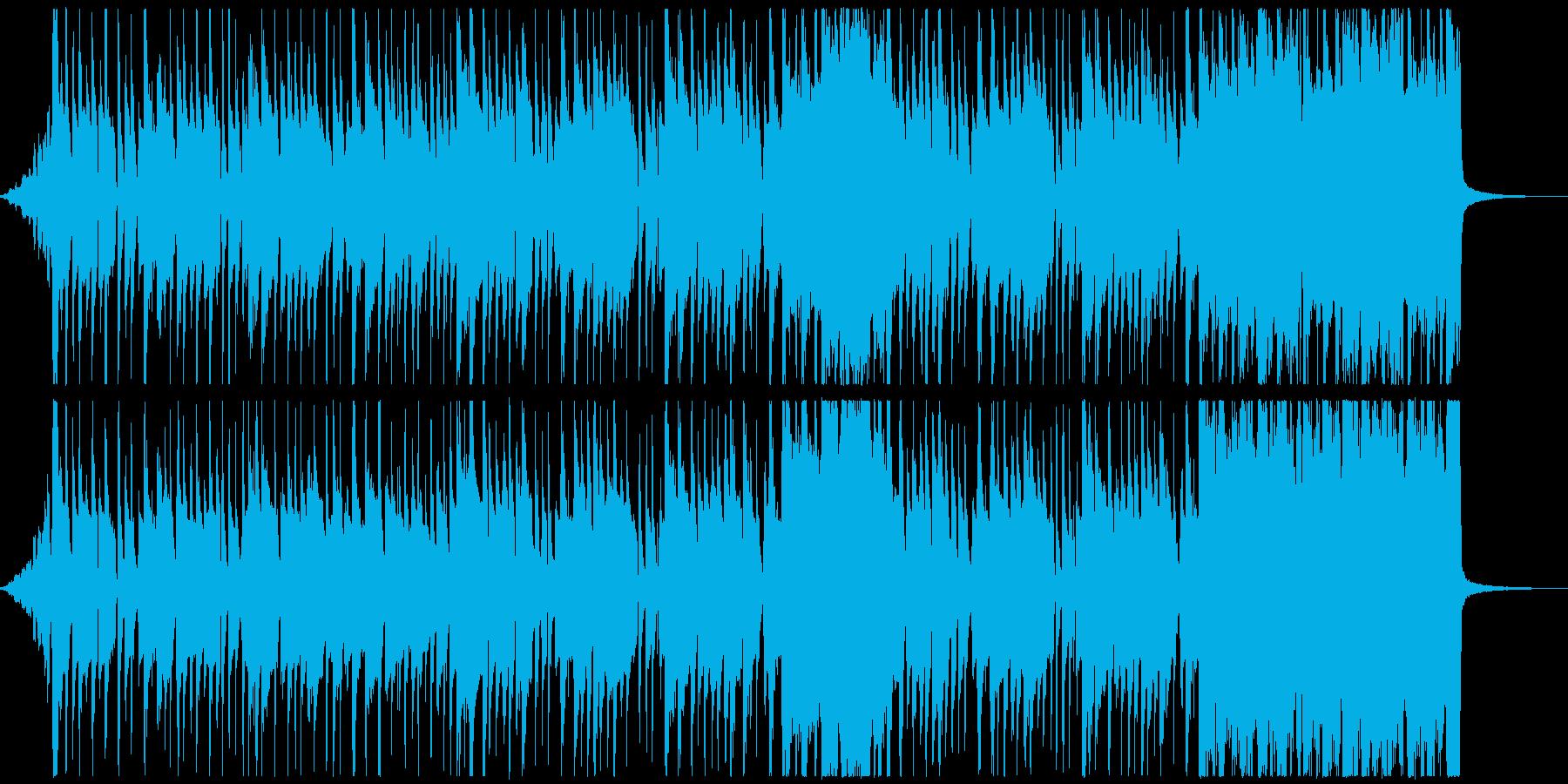 怪しい雰囲気でコミカルなラテン音楽の再生済みの波形