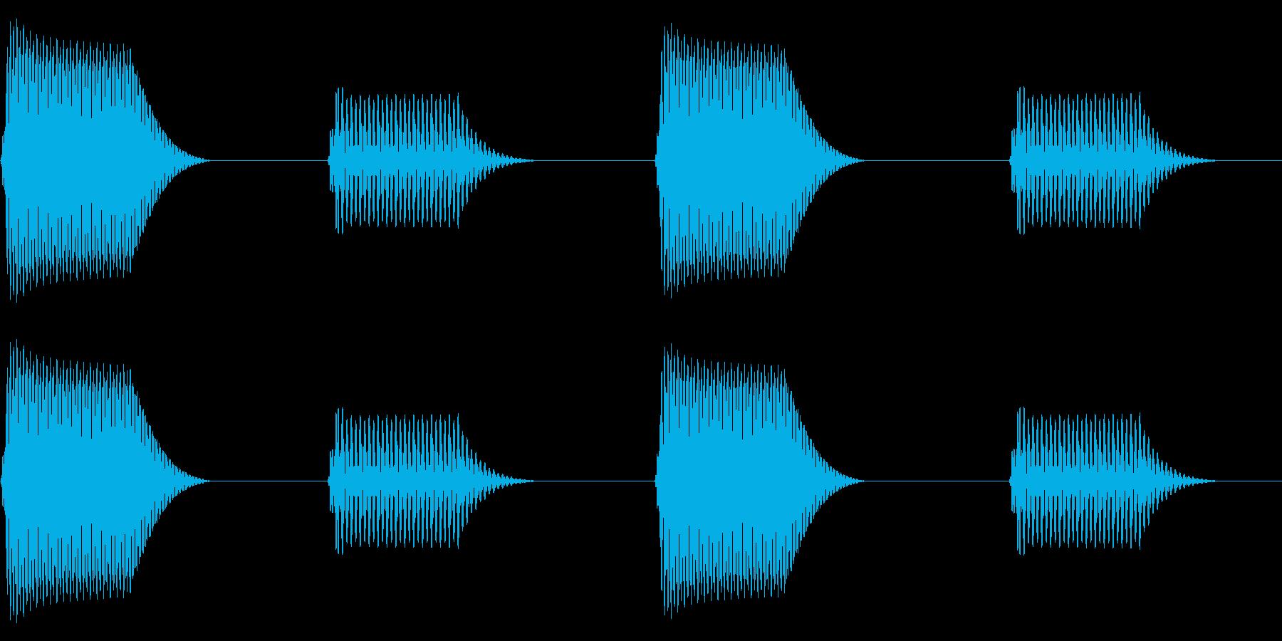 往年のRPG風 コマンド音 シリーズ14の再生済みの波形